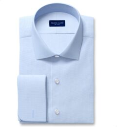 DJA Sea Island Light Blue End-on-End Custom Dress Shirt