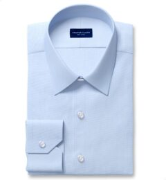 DJA Sea Island Light Blue End-on-End Dress Shirt