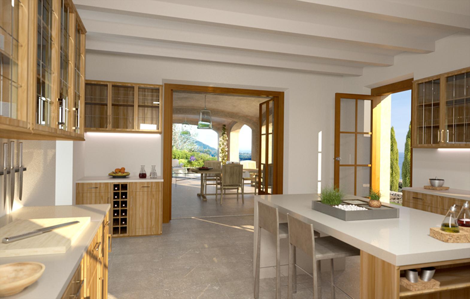 Images de la propriété immobilière de Villa exclusive sur la côte de Deià...