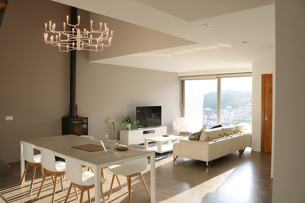 Image of property Semidetached house in loft style...