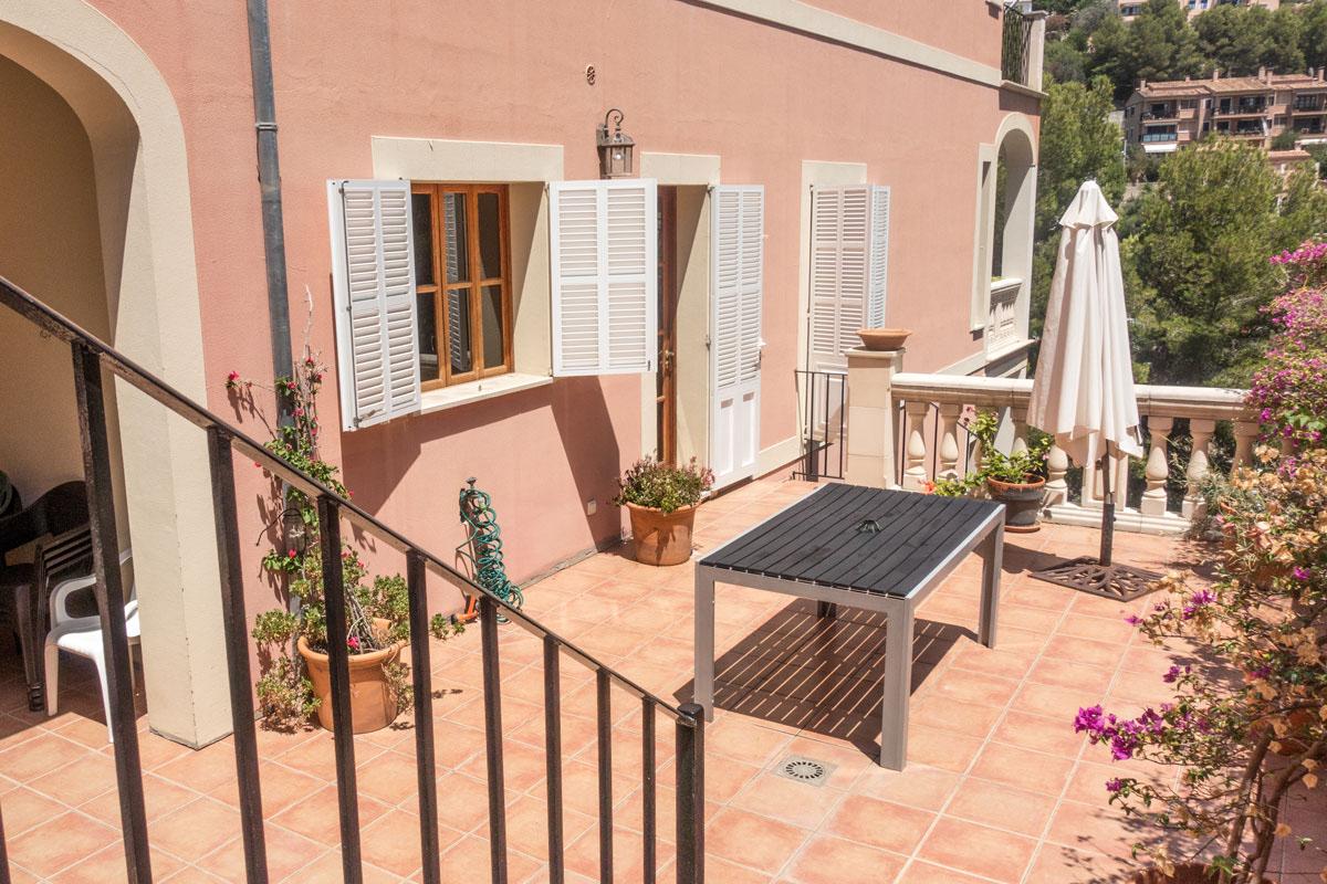 Image of property Rental in Puerto de Sóller with wide view...