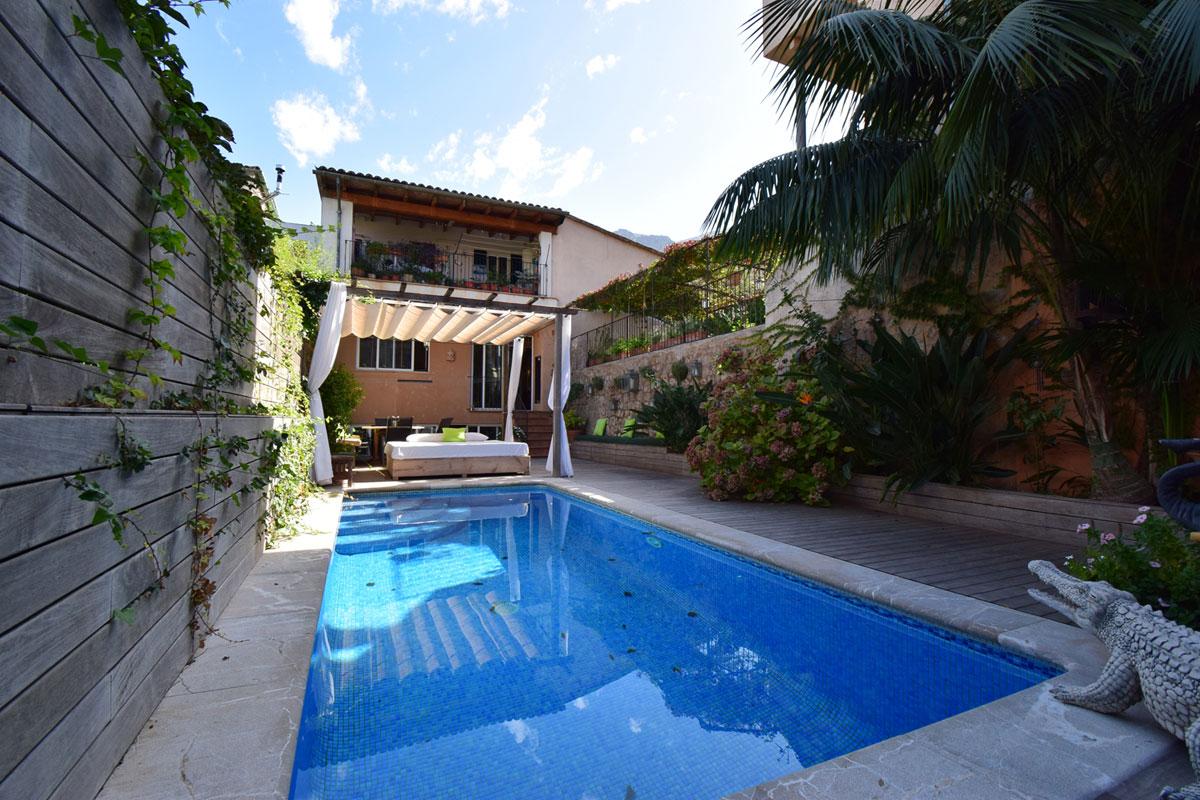 Immobilien Bilder von Duplexwohnung mit Pool nahe der Plaza von Sóller...