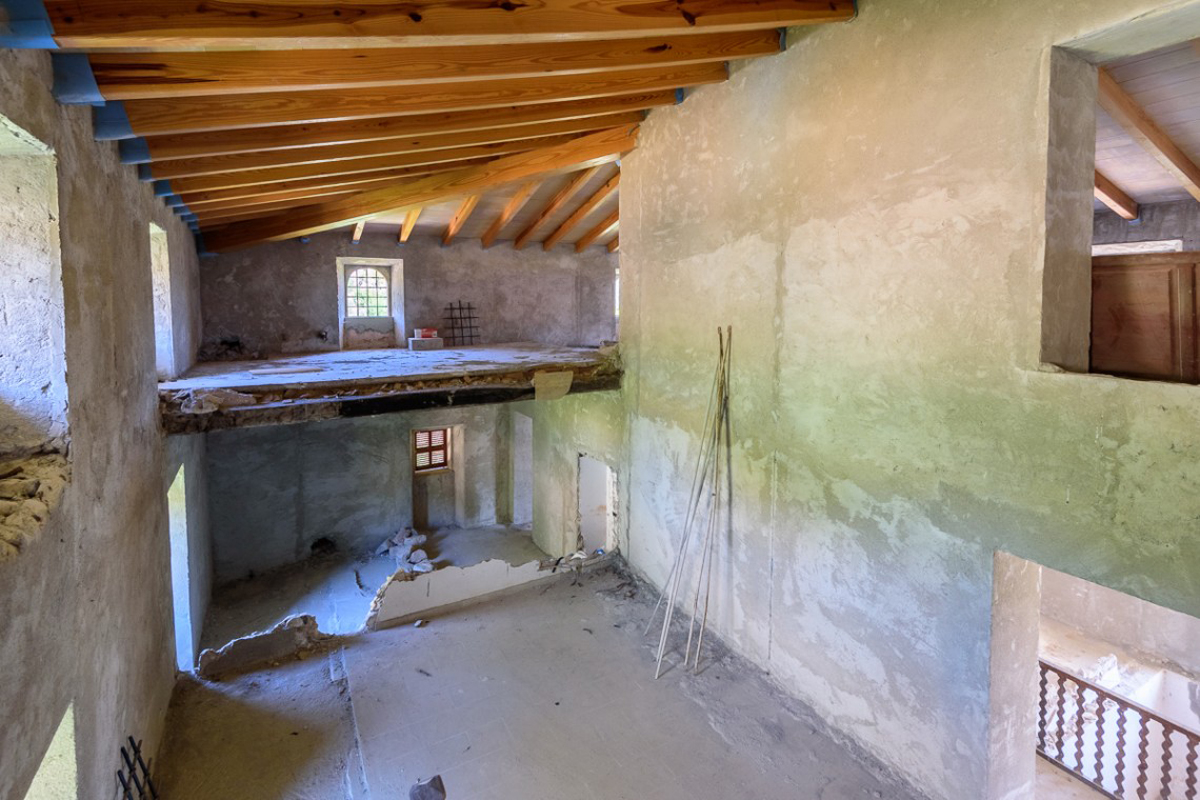 Immobilien Bilder von Herrenhaus hoch über Sóller...
