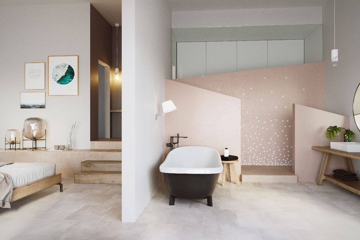 Images of New construction project beautiful minimalism... real estate property