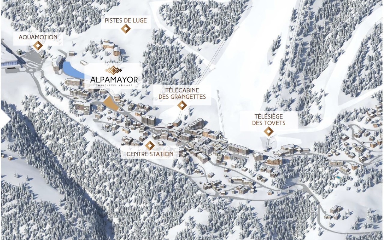Alpamayor, Courchevel