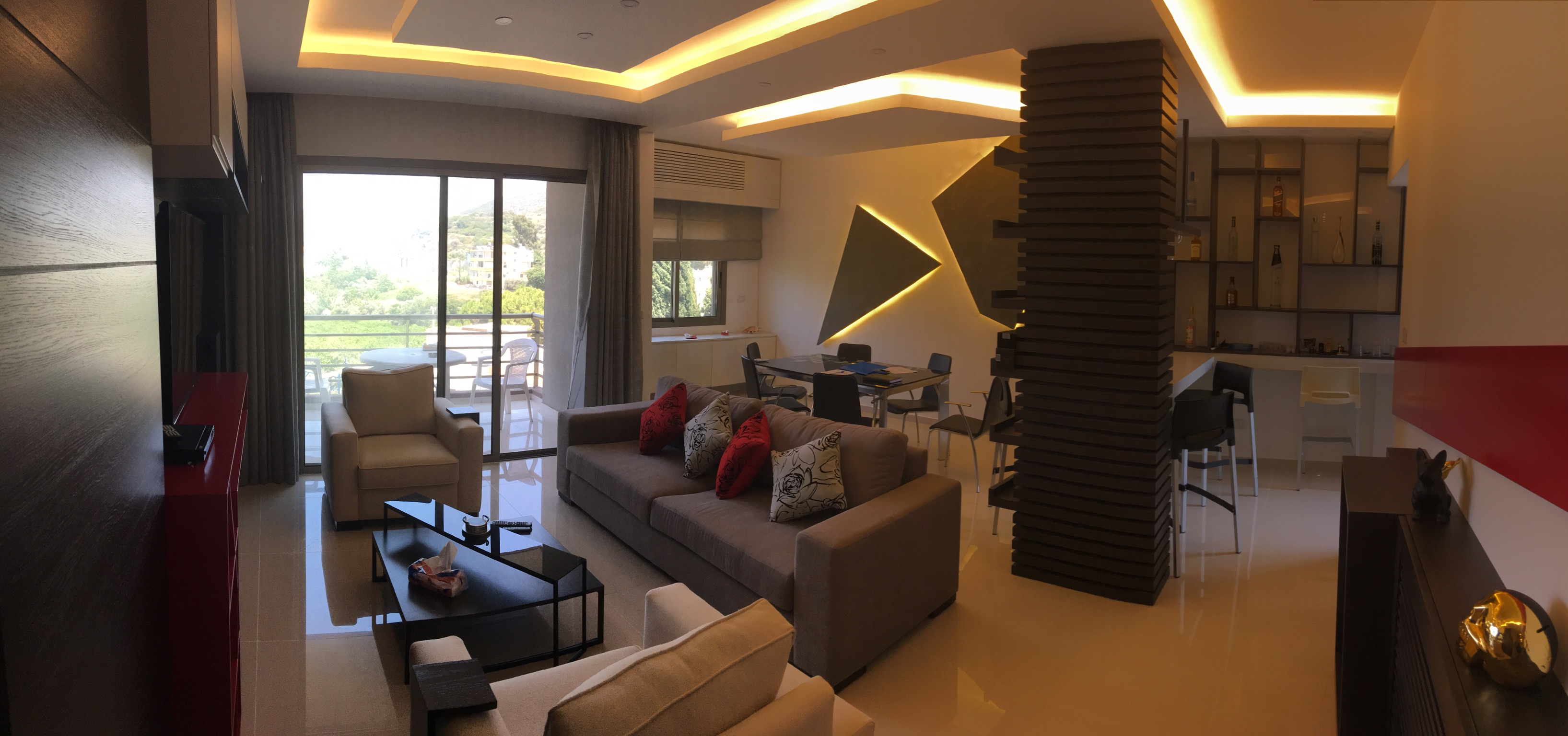 Furnished Apartment  For Sale In Batroun In A Gated Community With Pool