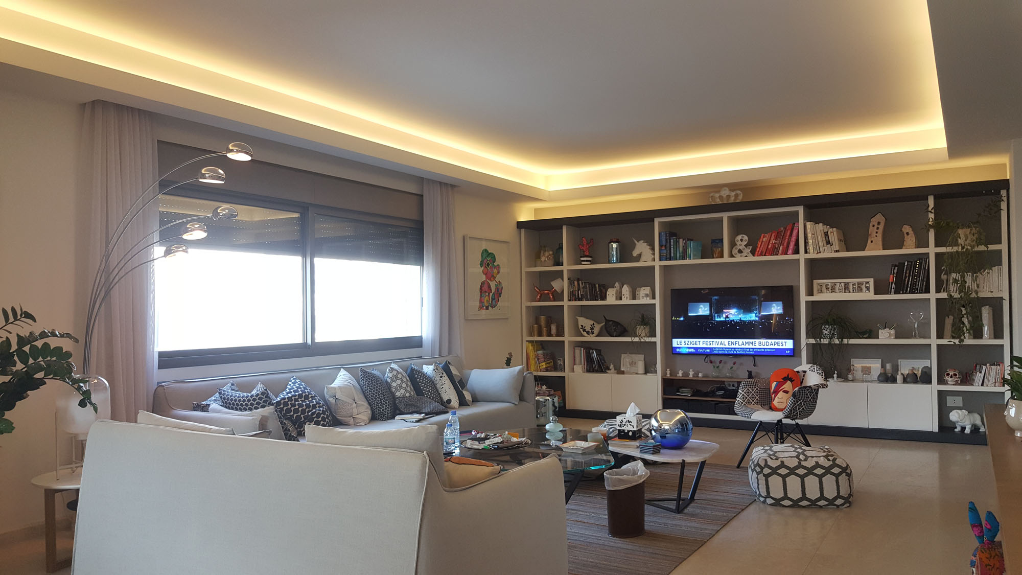 Luxuirous furnished apartment for sale in Mar takla with open view