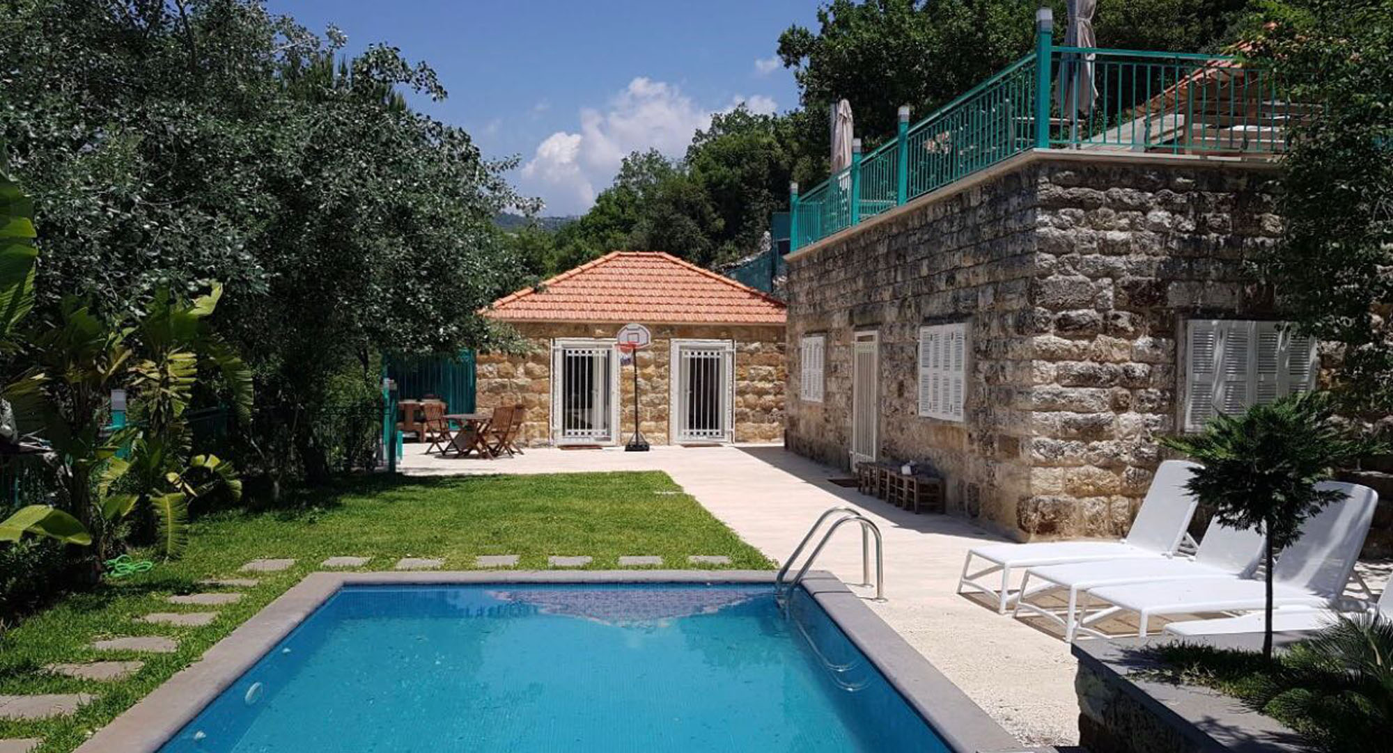 Amazing Fully renovated traditional lebanese house for sale