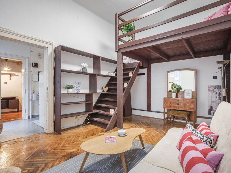 3 Room Apartment For Sale in Budapest VII. District