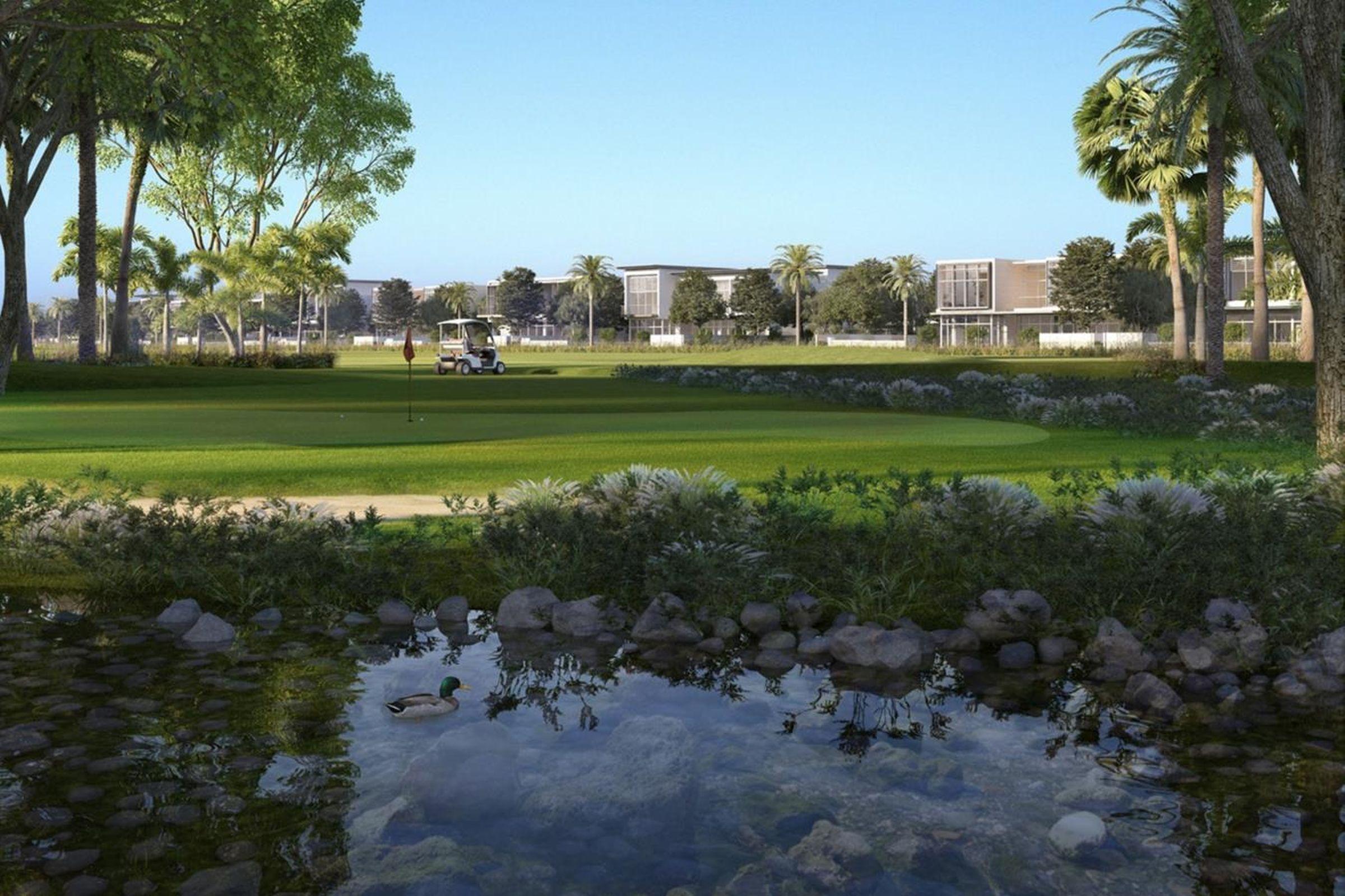 Dubai Hills villa with full park view