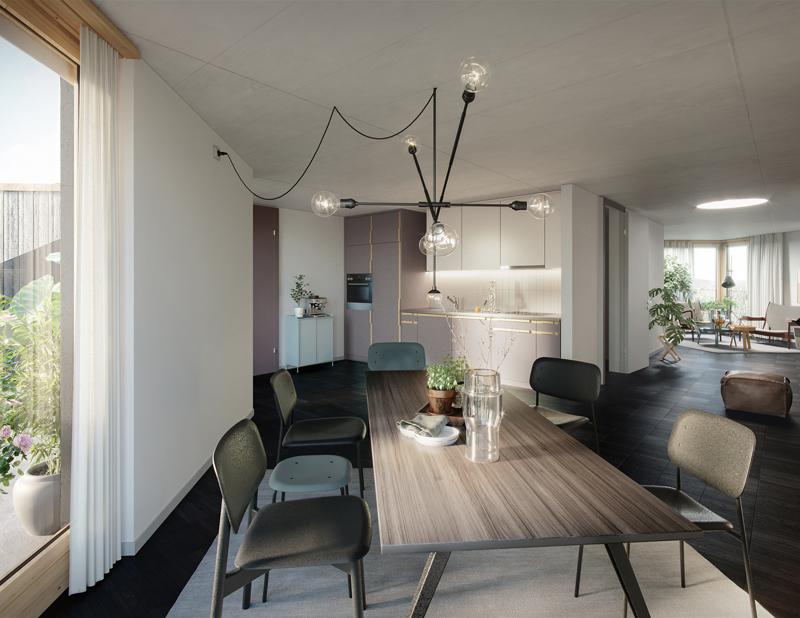Erstvermietung: moderne Wohnung