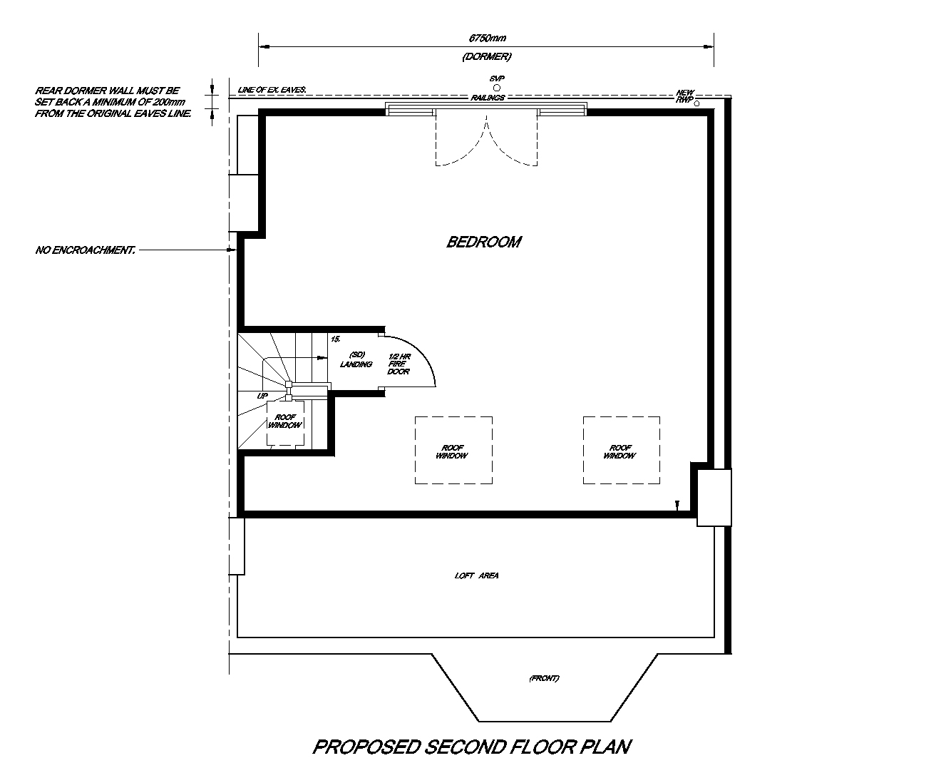 Loft Conversion Proposed plan.jpg