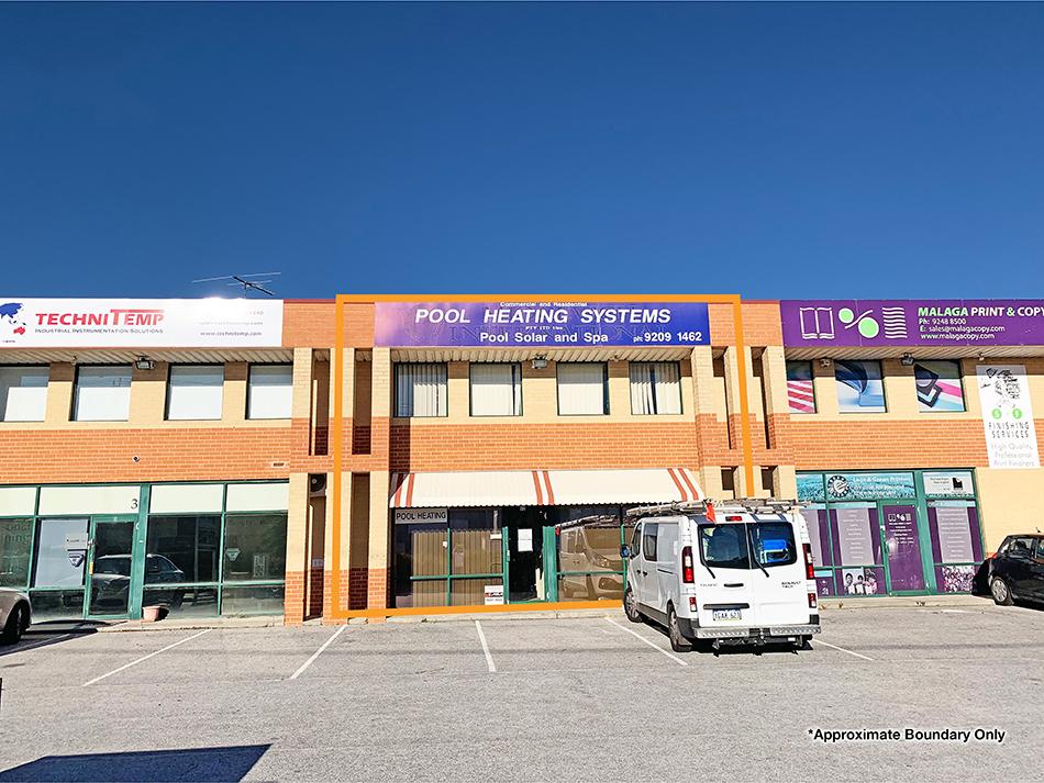 Malaga Markets Precinct – 246sqm* Profile Front Unit
