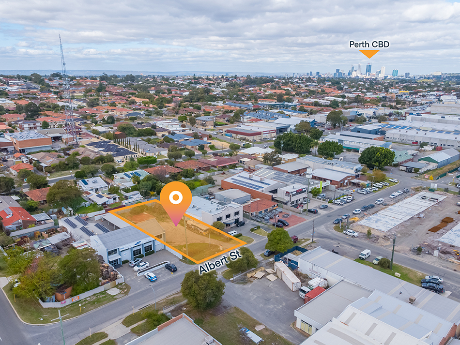 Osborne Park Vacant Land – 1,012sqm* with Rear Access