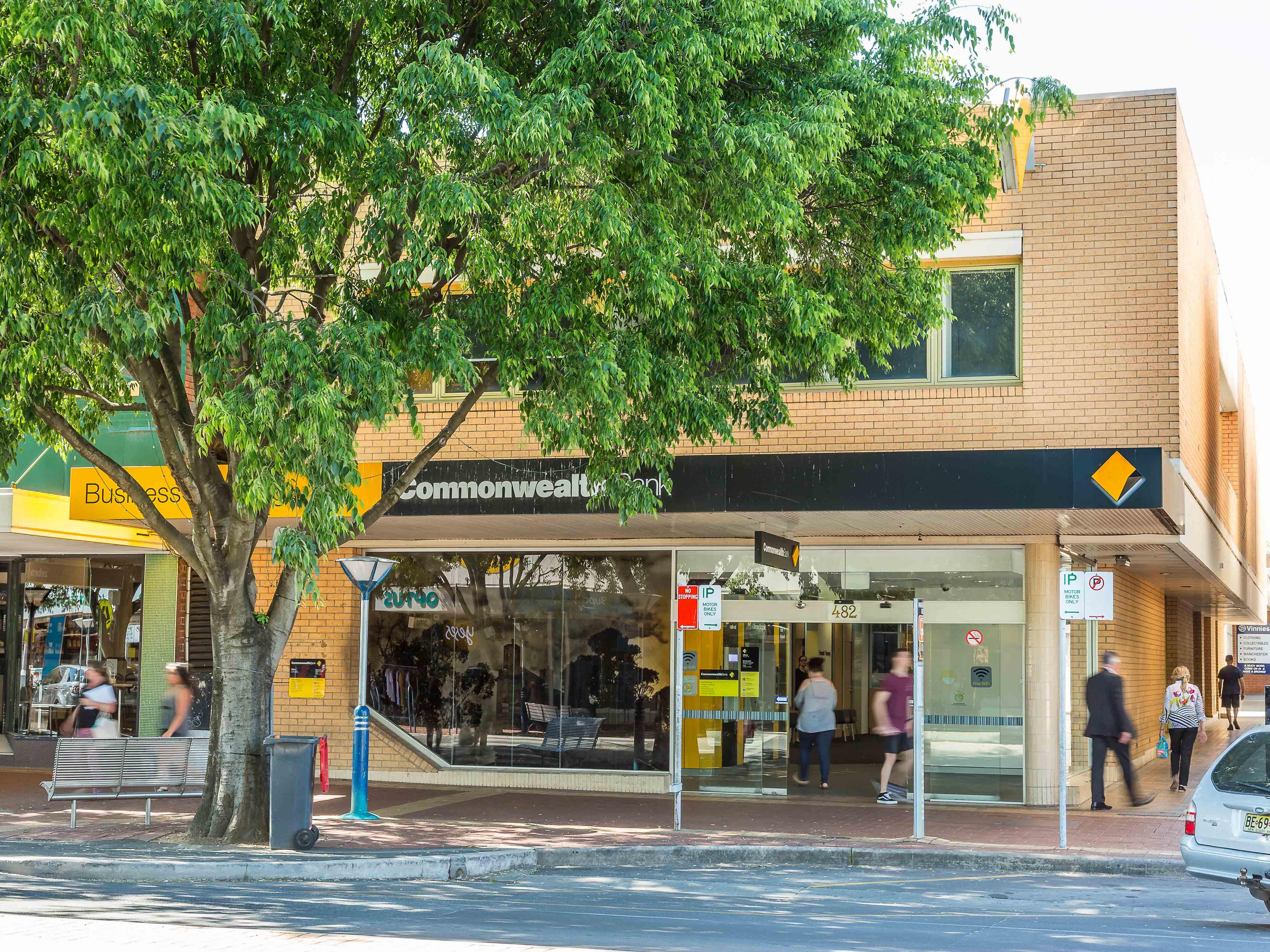 Long Established Commonwealth Bank Branch