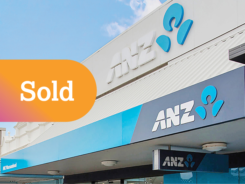Secure 10 Year Lease to ASX Listed ANZ