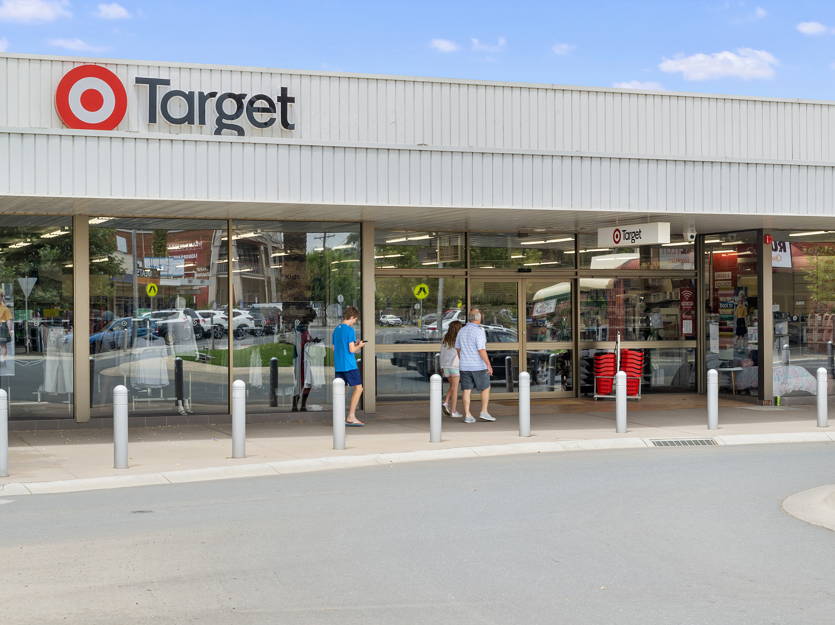 Abosas trophy retail investment - renewed 5 year lease to target