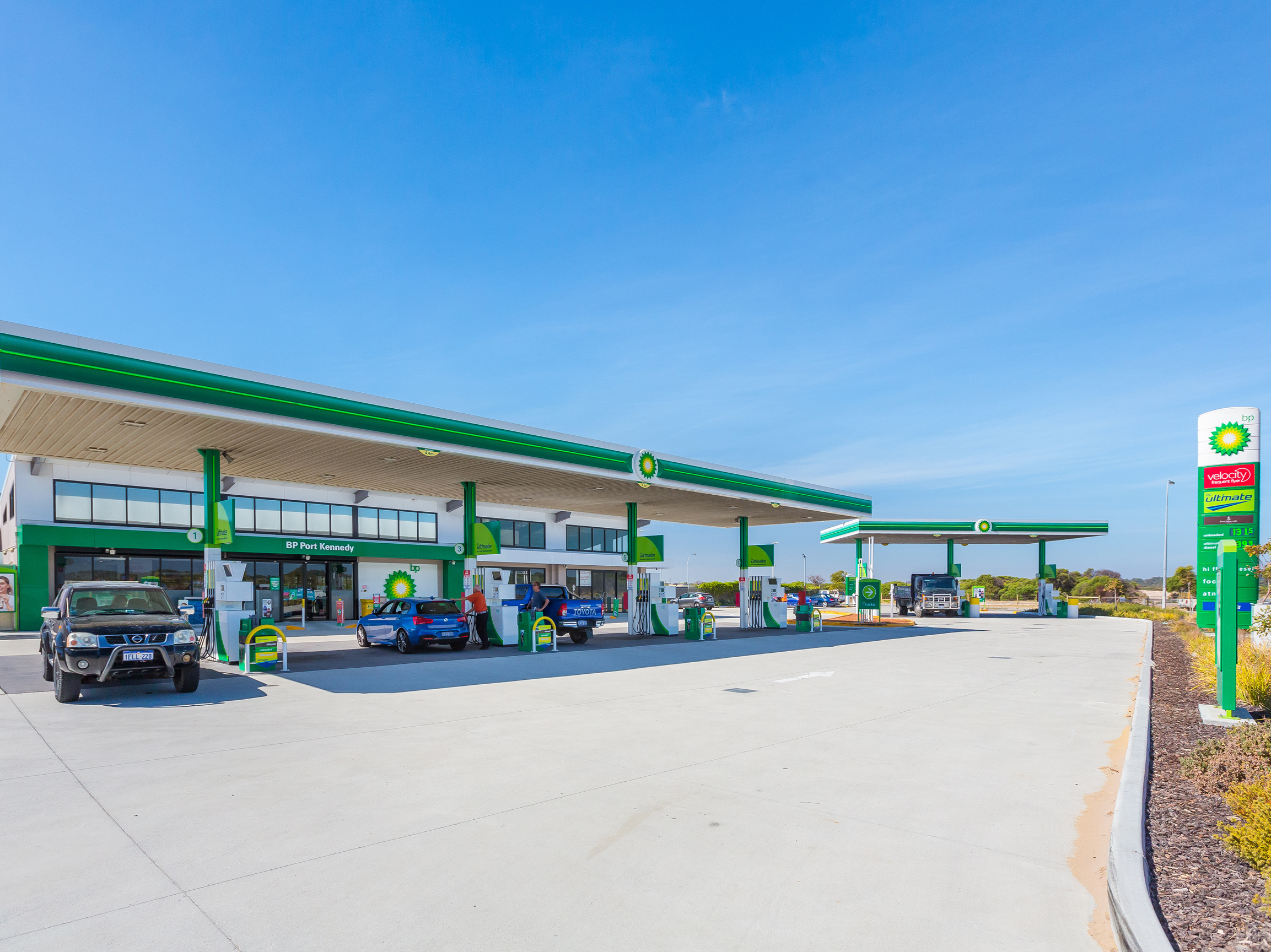 As New BP Service Station Leased to 2031