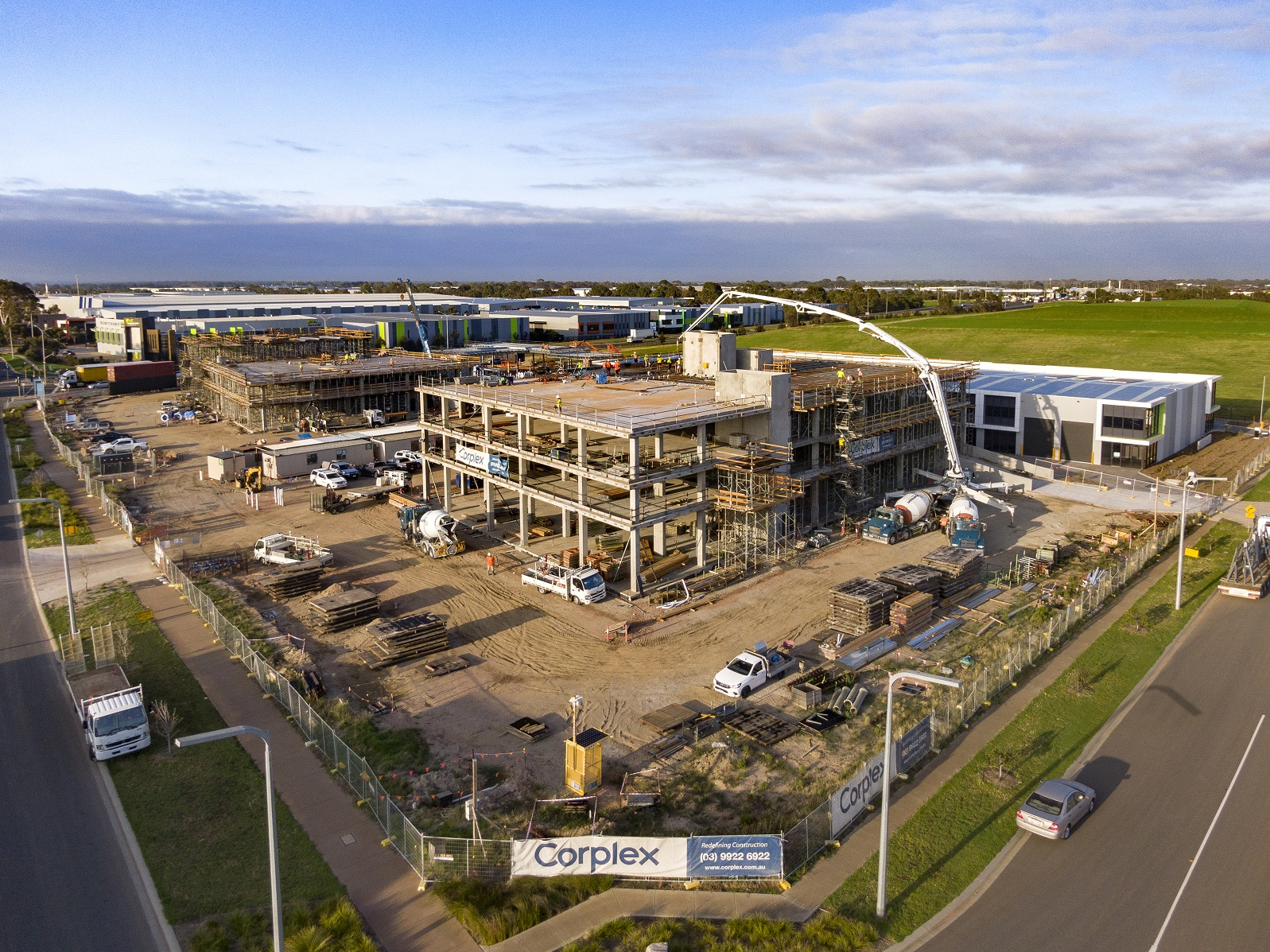 65% SOLD! Construction Commenced on High Profile Retail and Office Precinct!