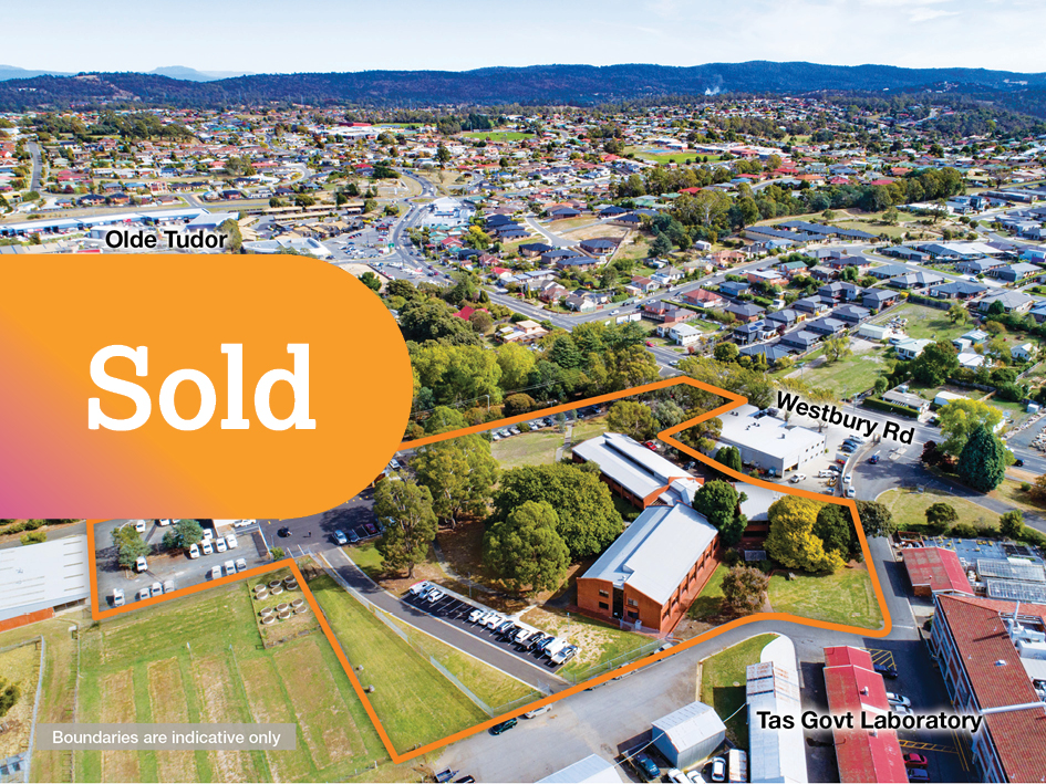 Leased to Tasmanian State Govt – Major Government Office Complex