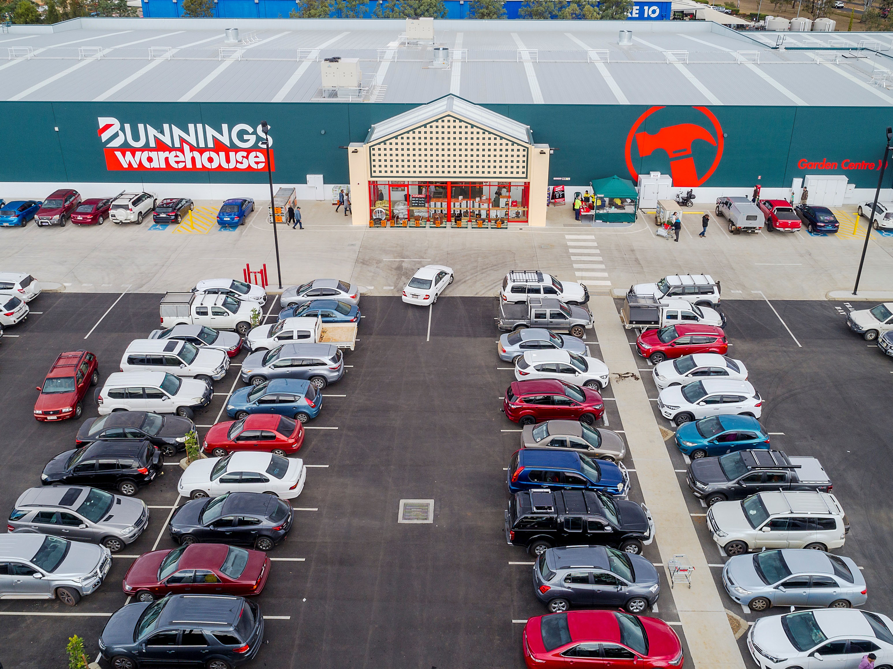 New Bunnings Warehouse Freehold Investment: Store Now Open