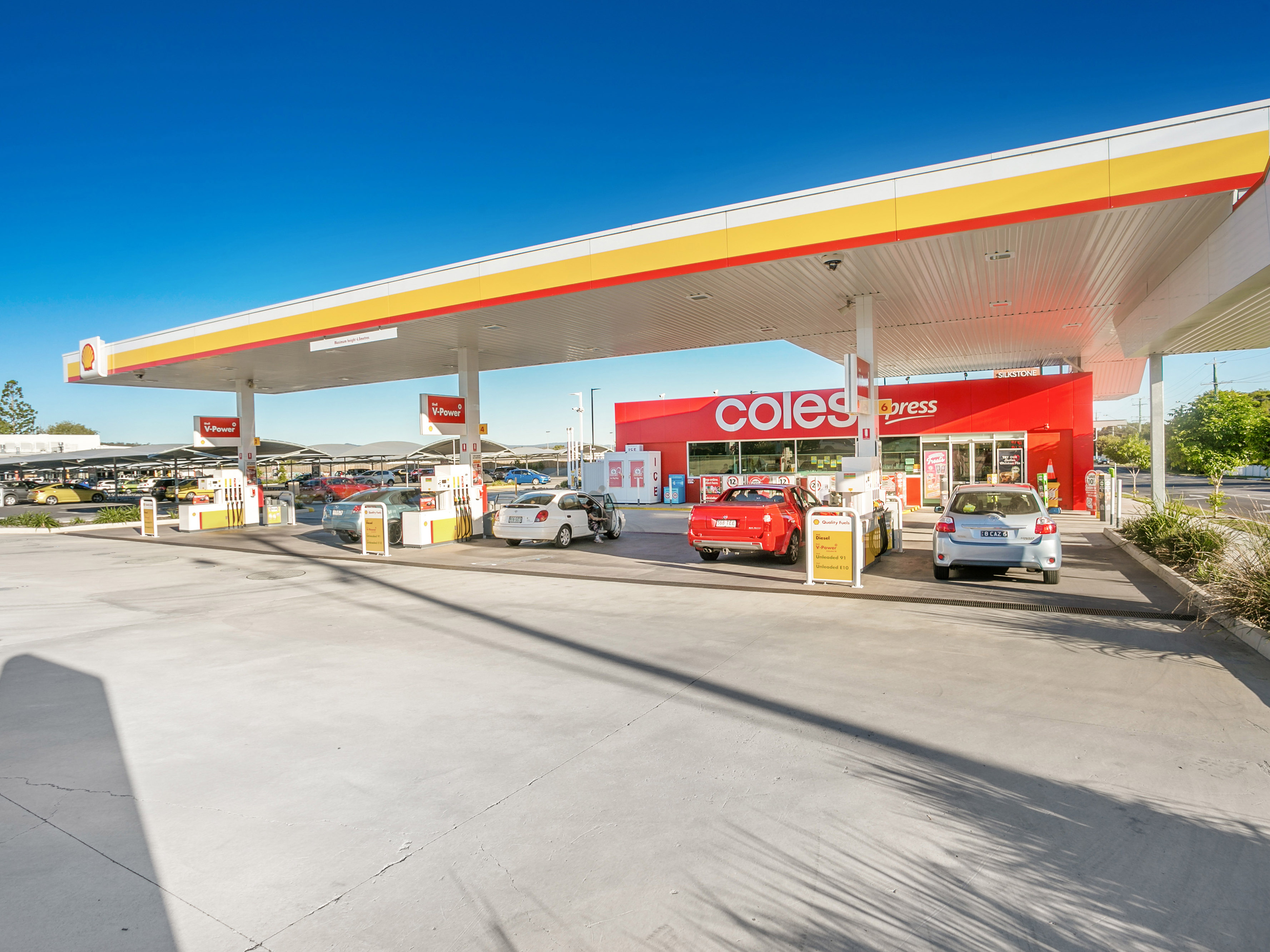 As New Coles Express Investment