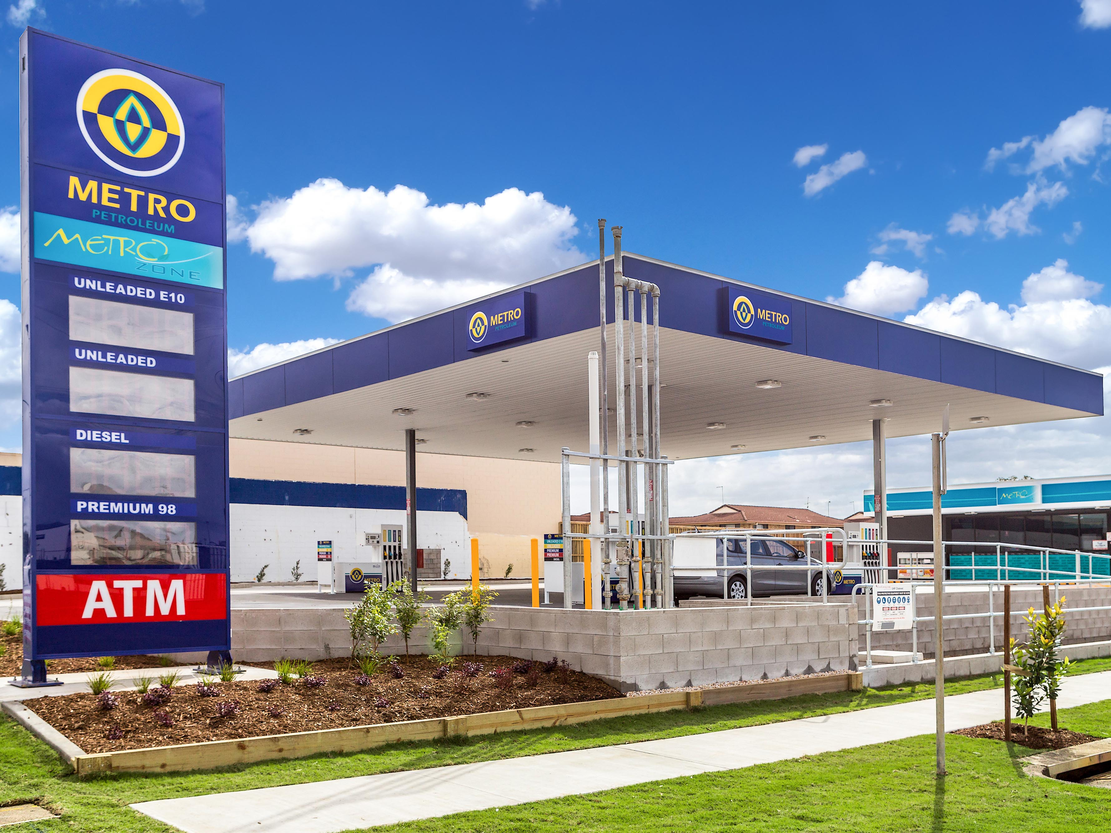 Brand New Metro Service Station Now Open