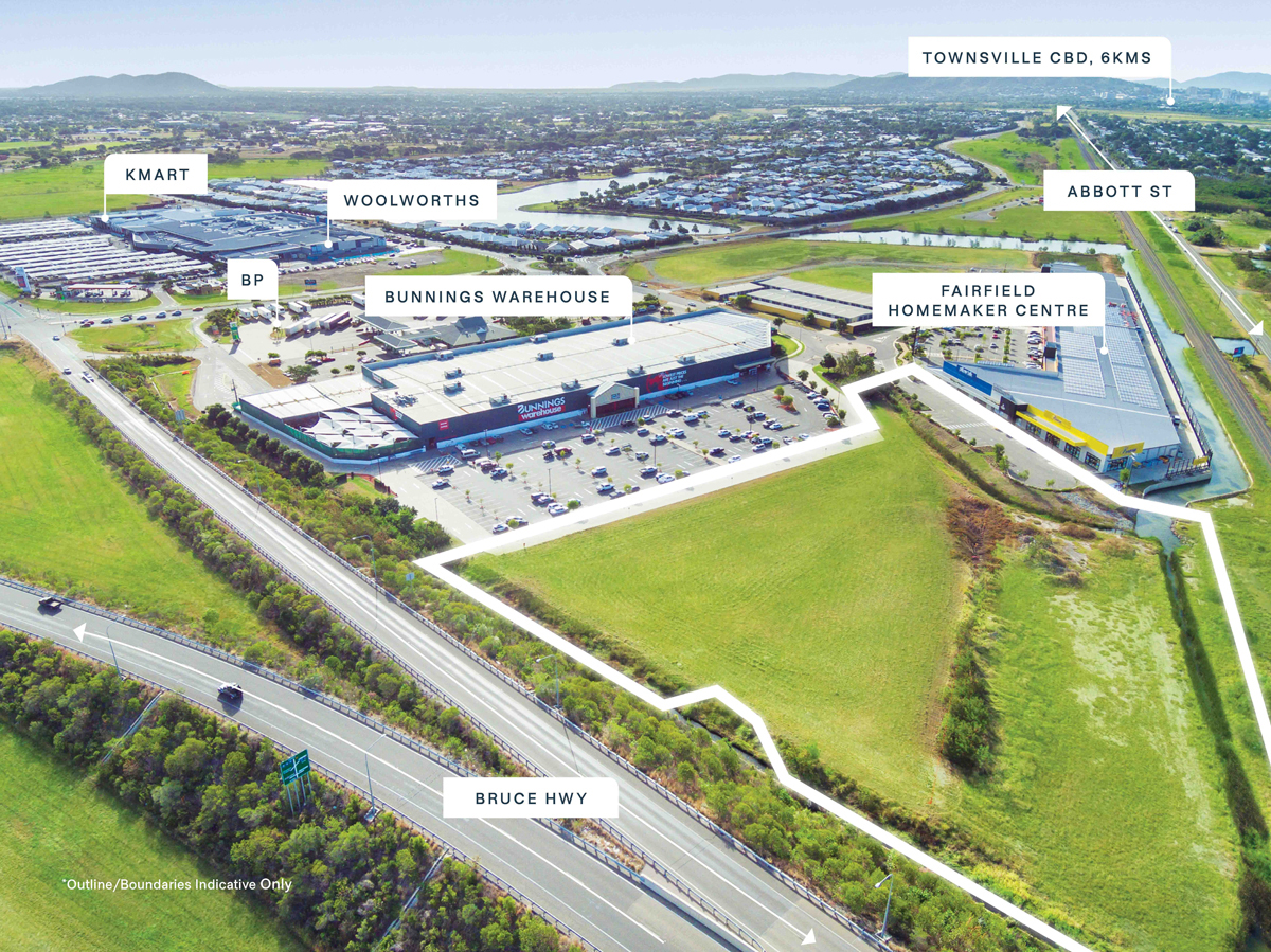 Landmark Site Adjoining Bunnings and Beacon | Burgess Rawson