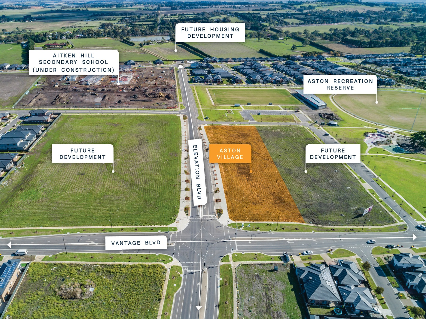 Aston Village – 40% Pre-committed
