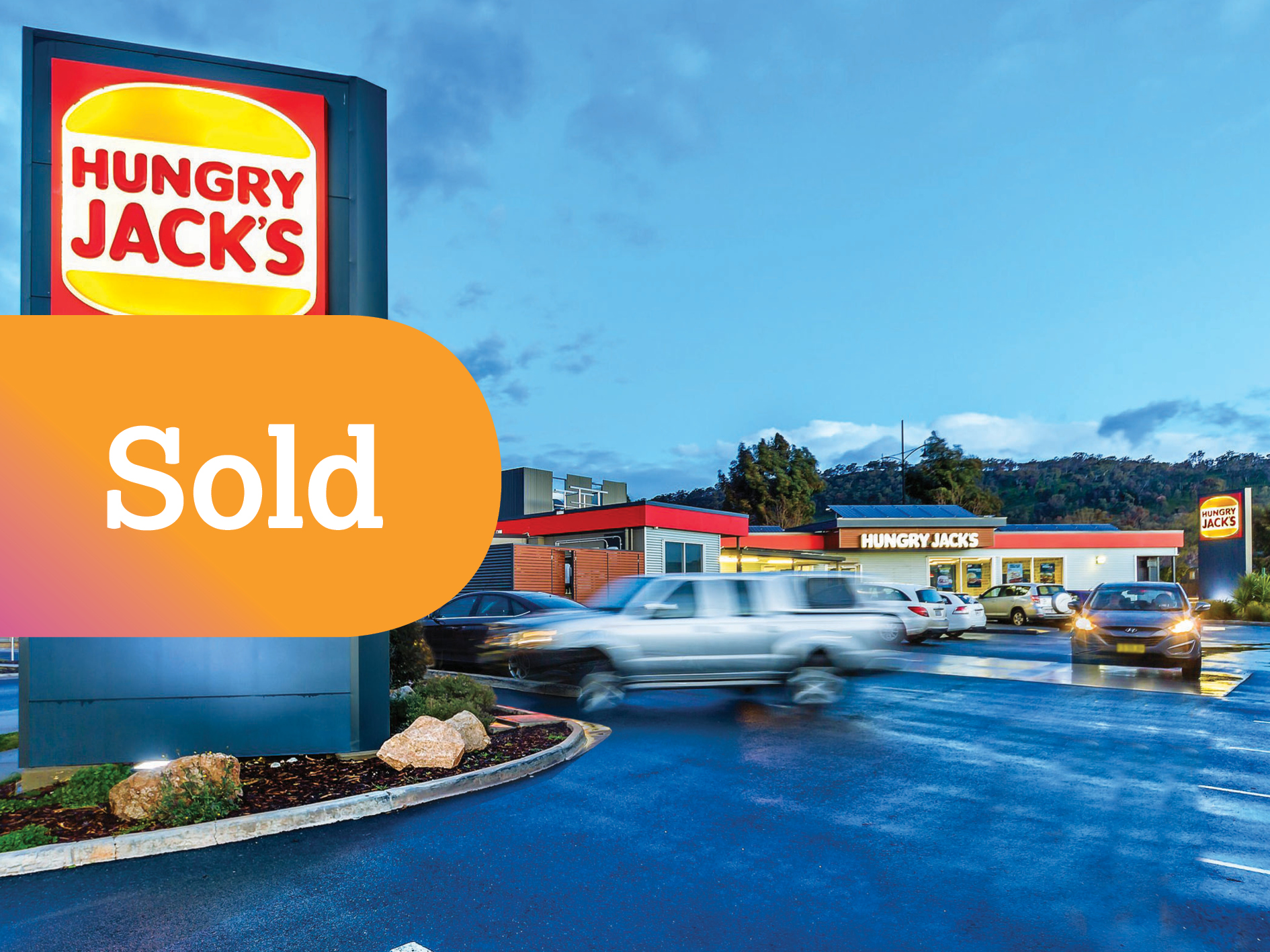 Rare Hungry Jack's Freehold Investment