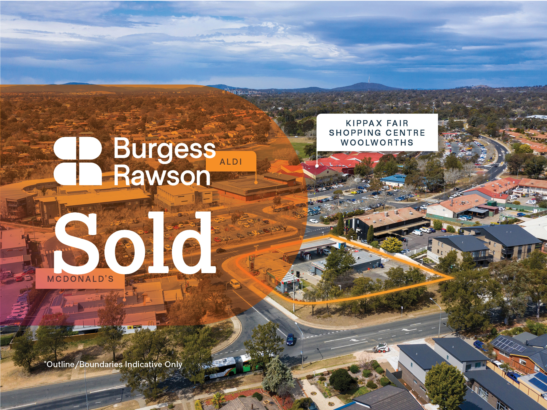Suburban Canberra 7-Eleven Investment Opposite McDonald's and Woolworths