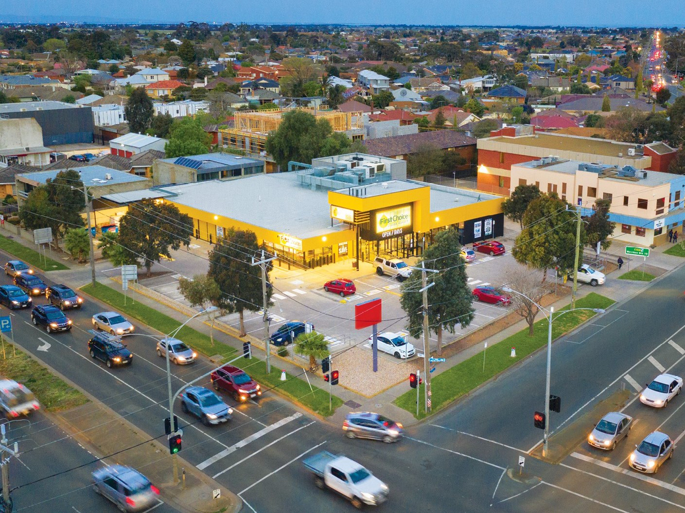 Freestanding Melbourne Coles Group Investment