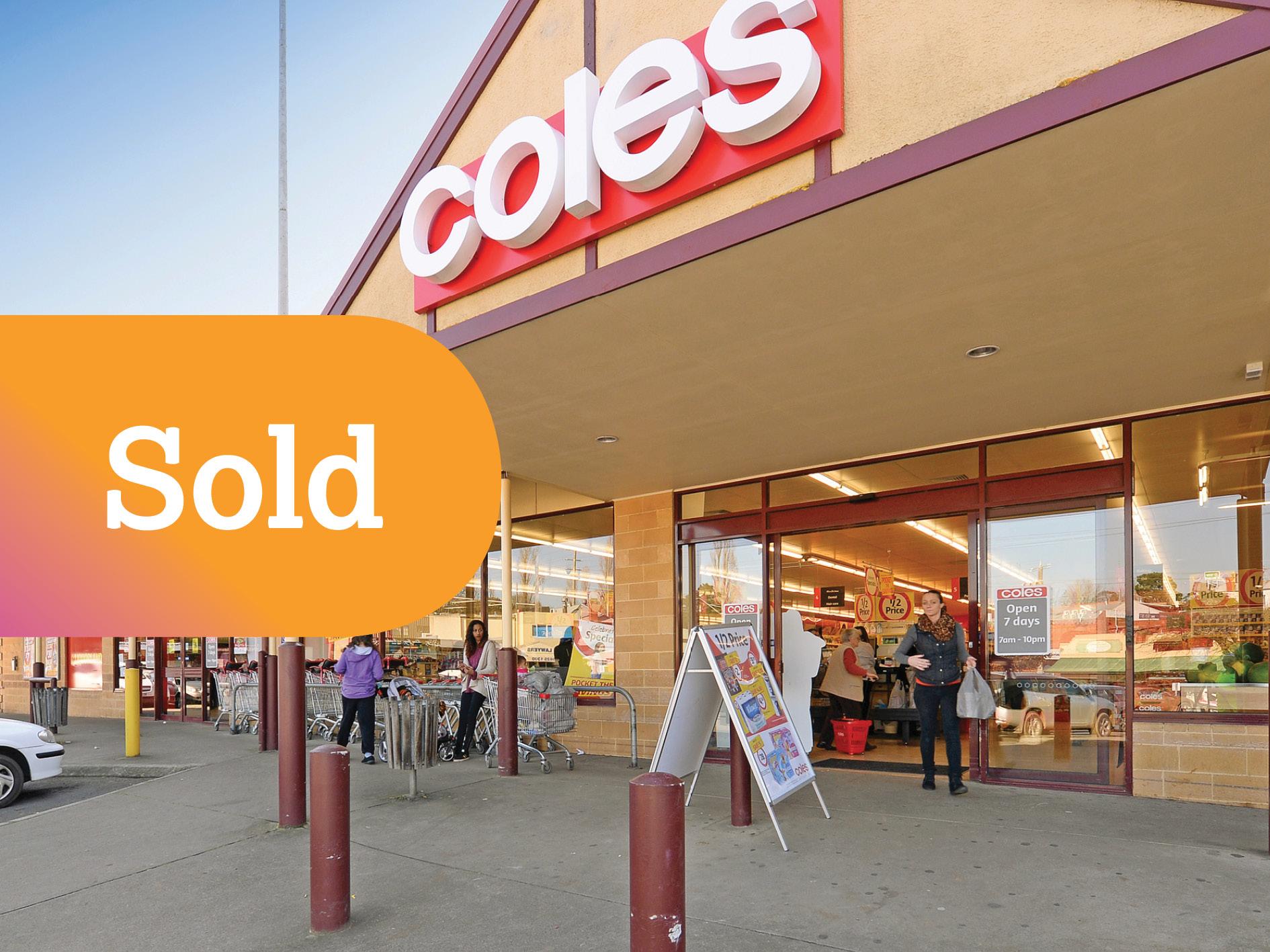 Successful Freestanding Coles Supermarket