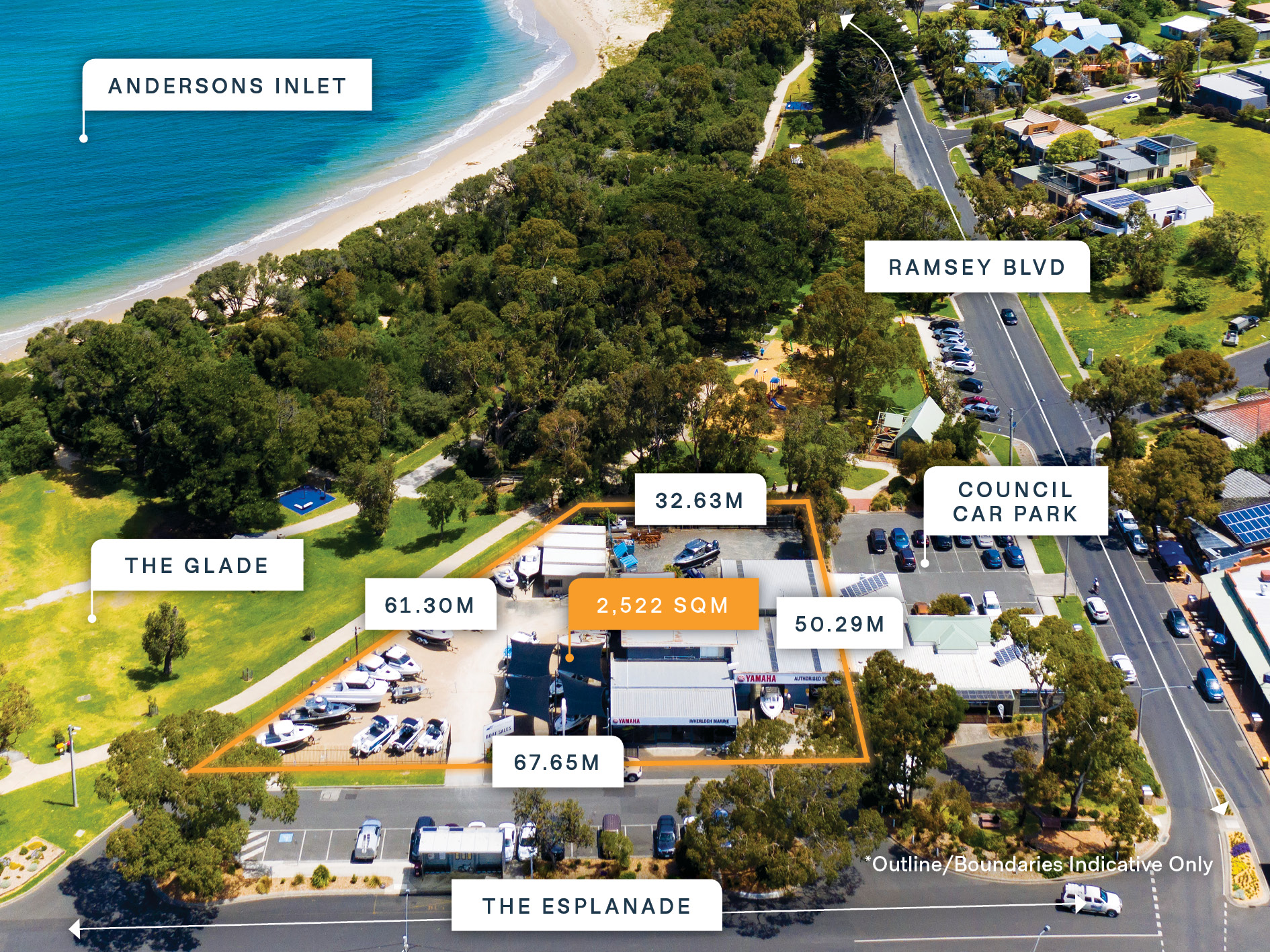 'Mixed Use' Development Site with Rare Foreshore Frontage