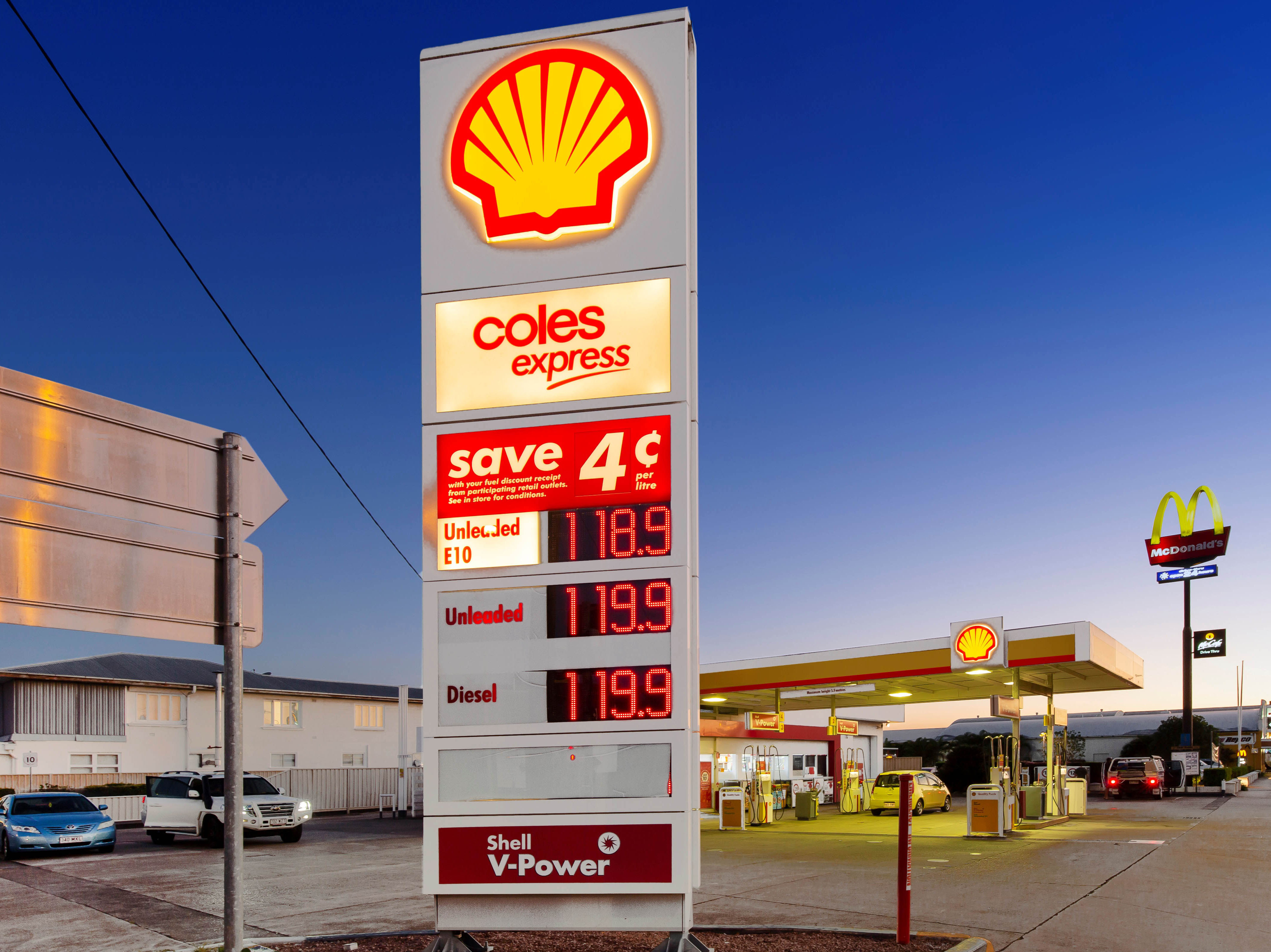 Long Term, Triple Net Lease to Viva Energy Australia