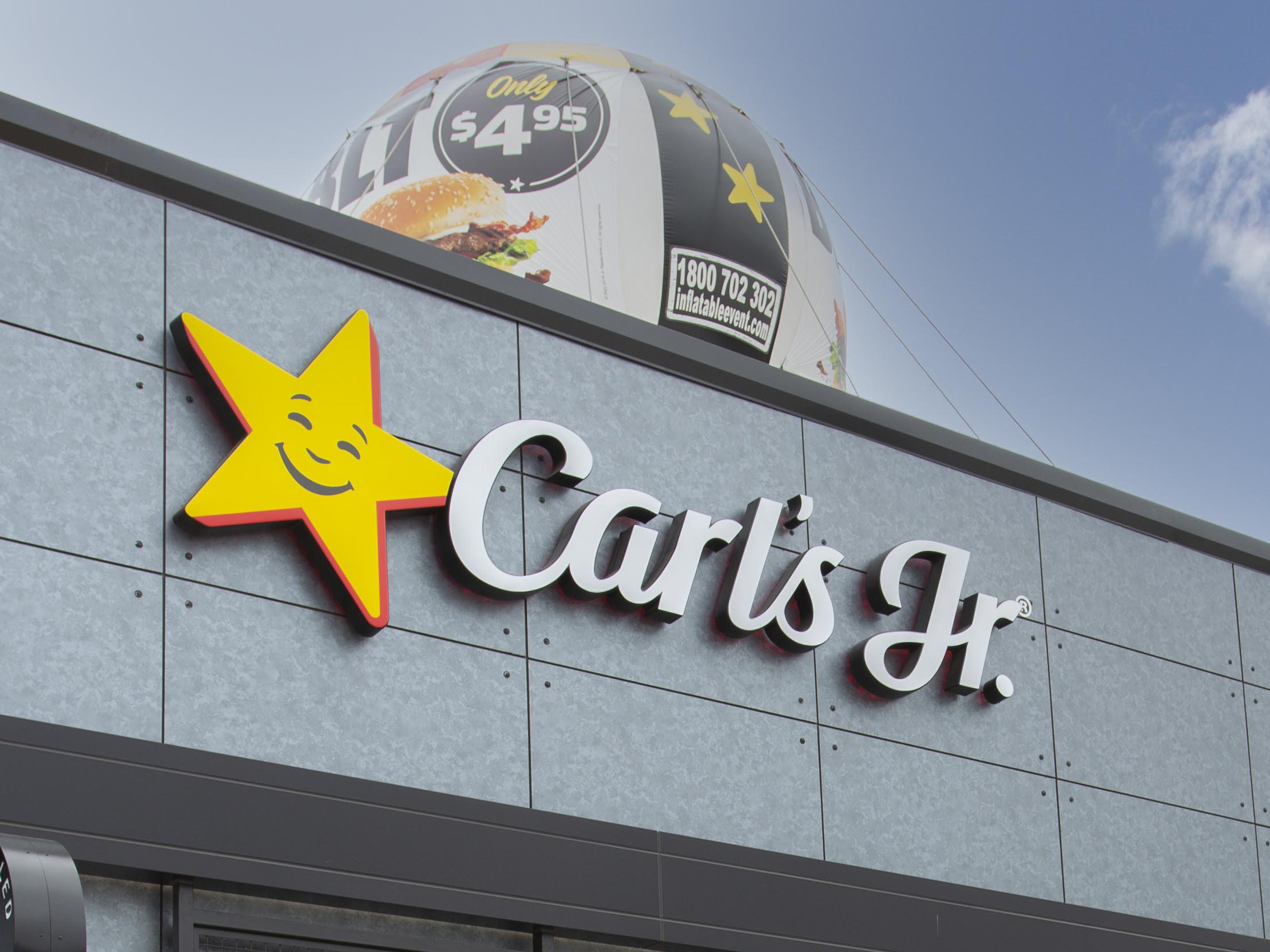 New 10 year lease to Carl's Jr