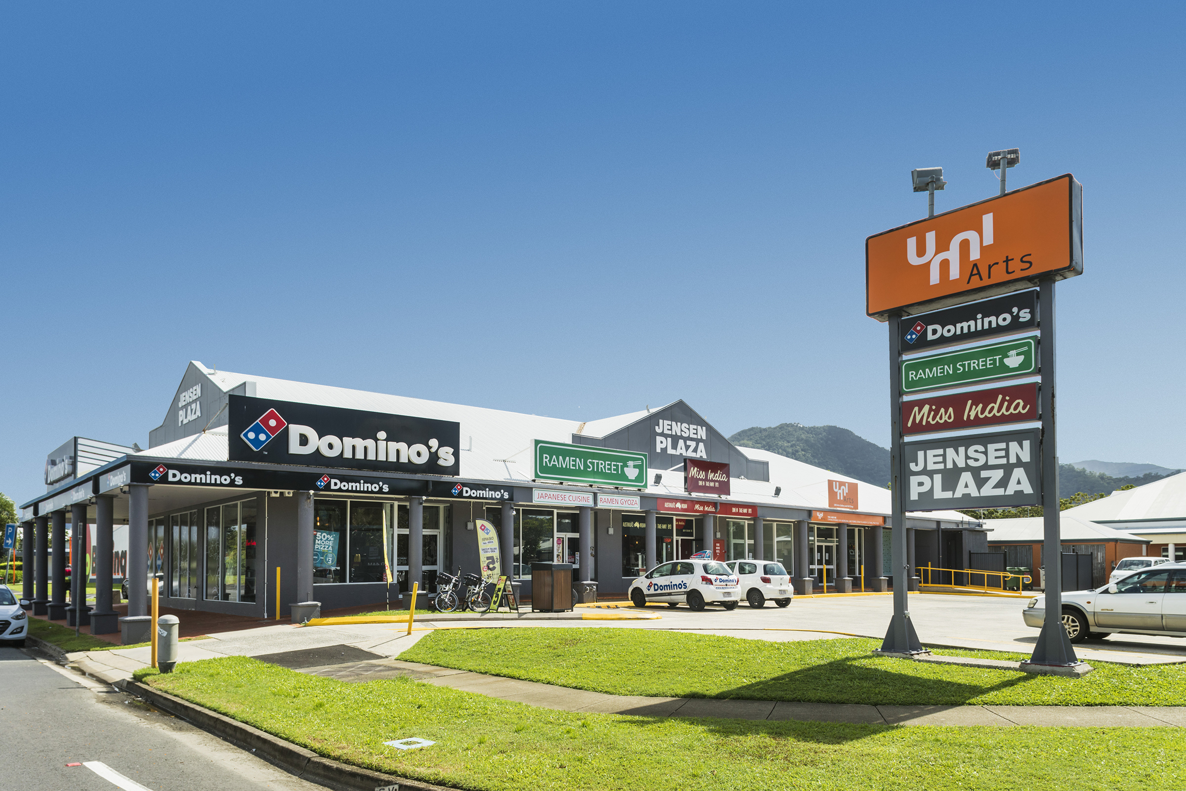 Cairns. Dominos Anchored Retail Complex. 100% Leased
