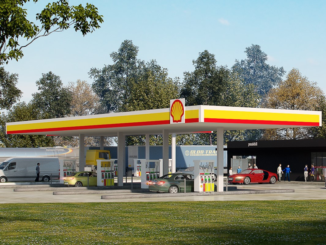 Massive State of the Art Design Proposed Truck Stop & Roadhouse Site