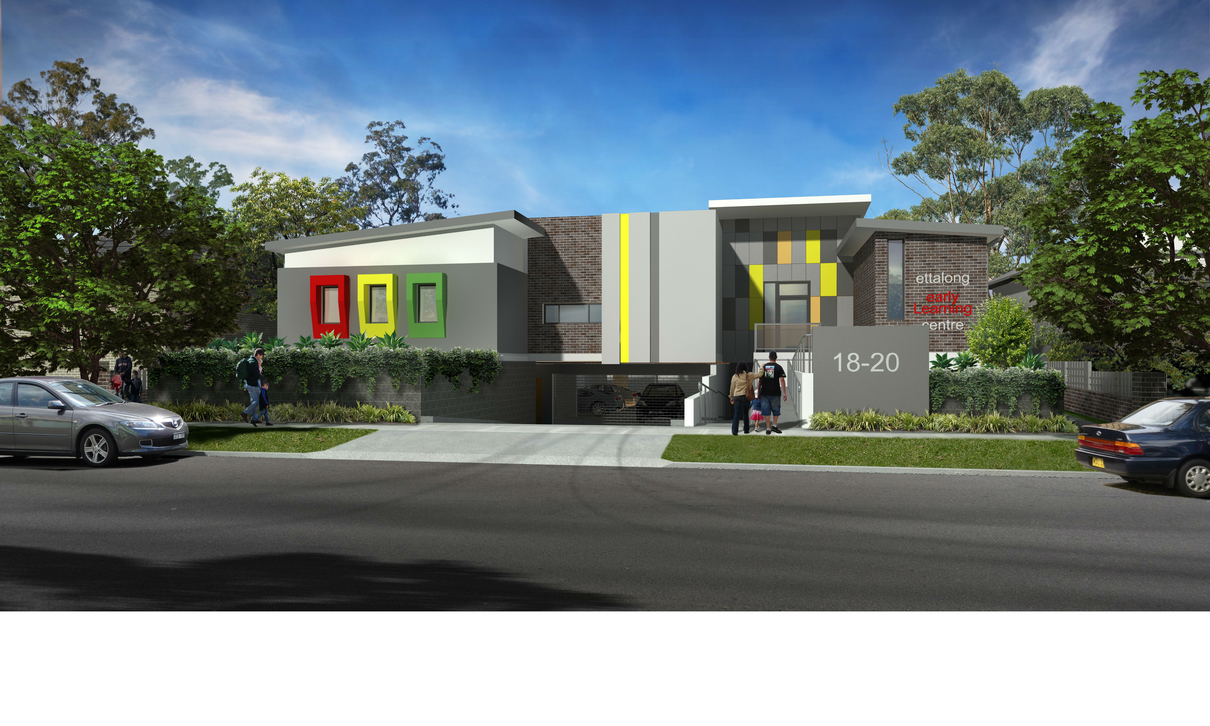 Sydney Metro Childcare Site – Modern Design, DA Approved + CC Ready