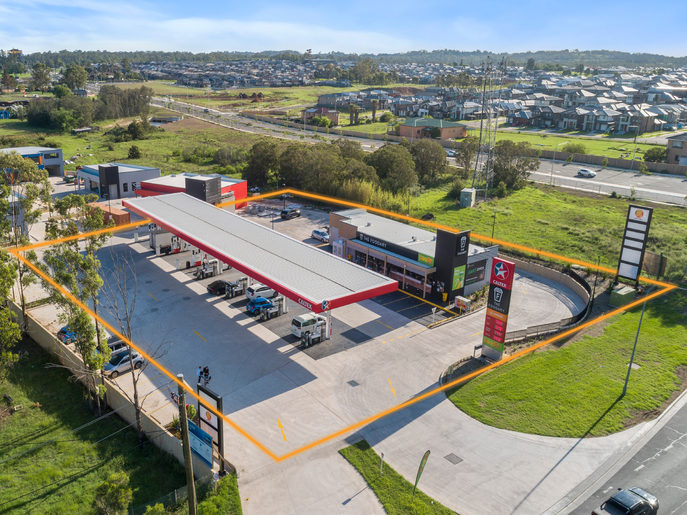 Sydney's Newest Service Station | Sydney's Fastest Growing Area