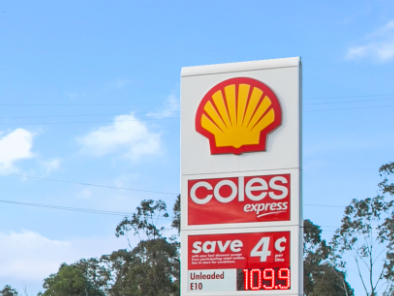 Shell & Coles Retail Fuel Investment. 10 Year Company (VIVA) Lease + Options