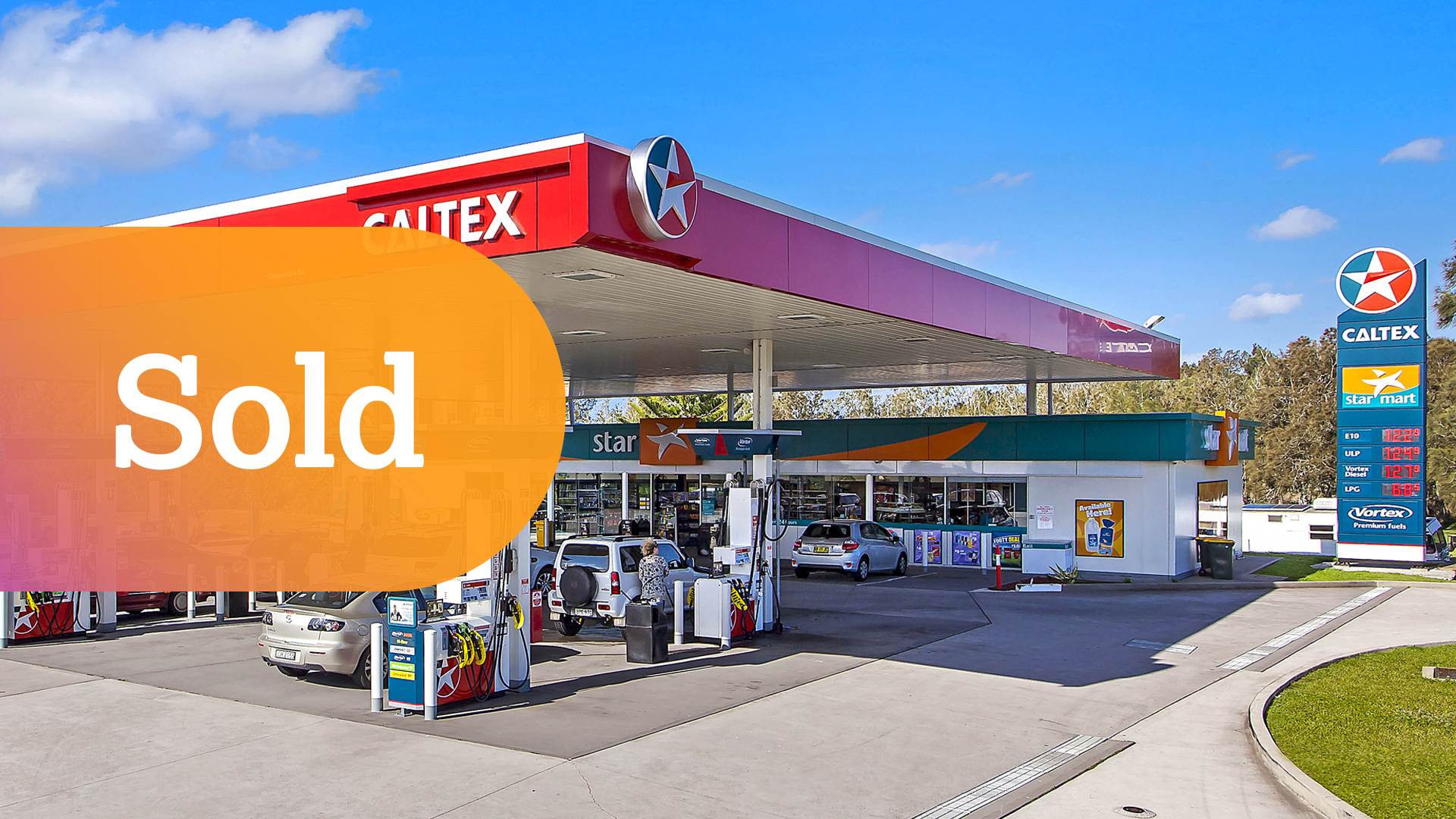 Secure 10 Year Lease to Caltex Australia