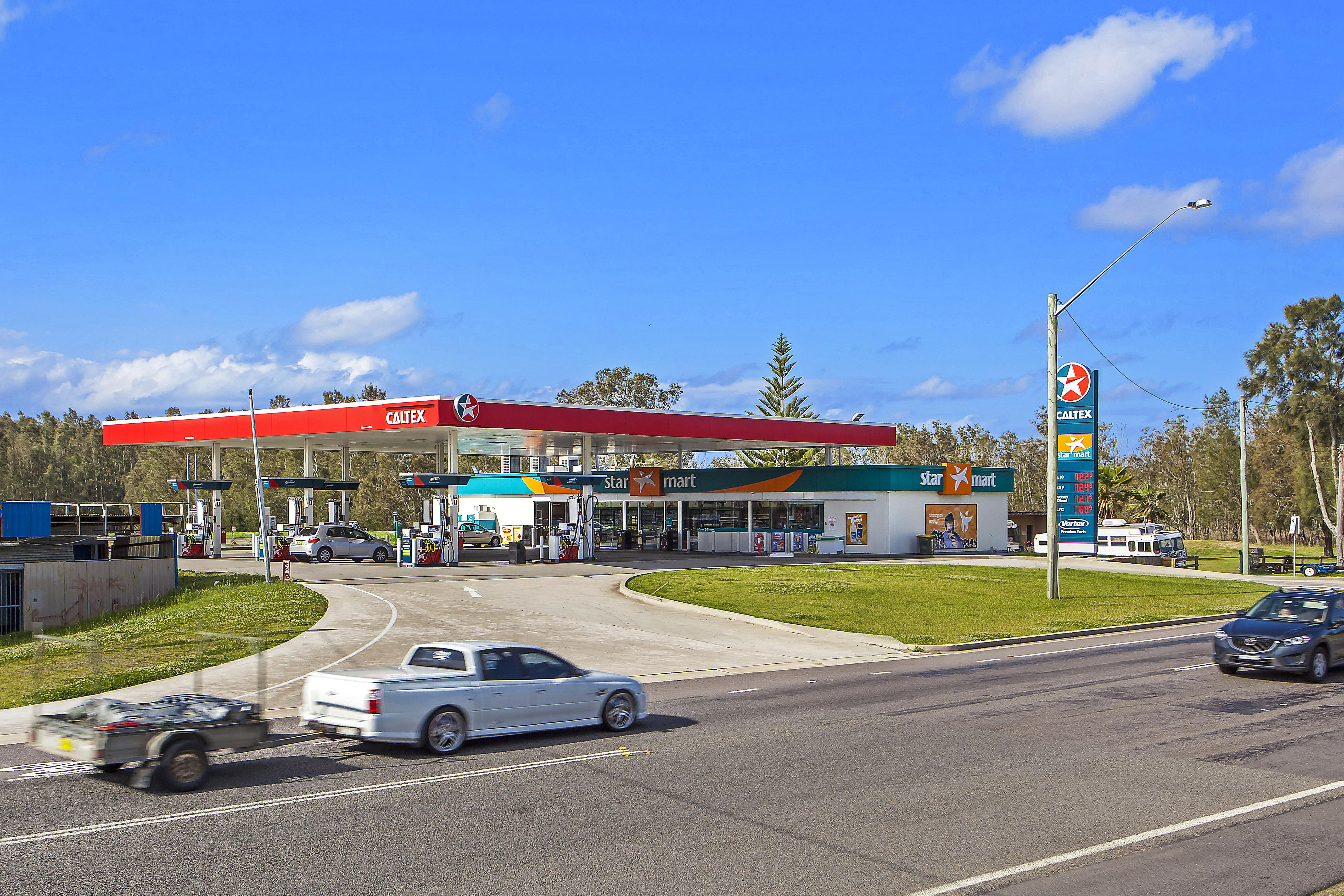 Secure 10 Year Lease to Caltex Australia