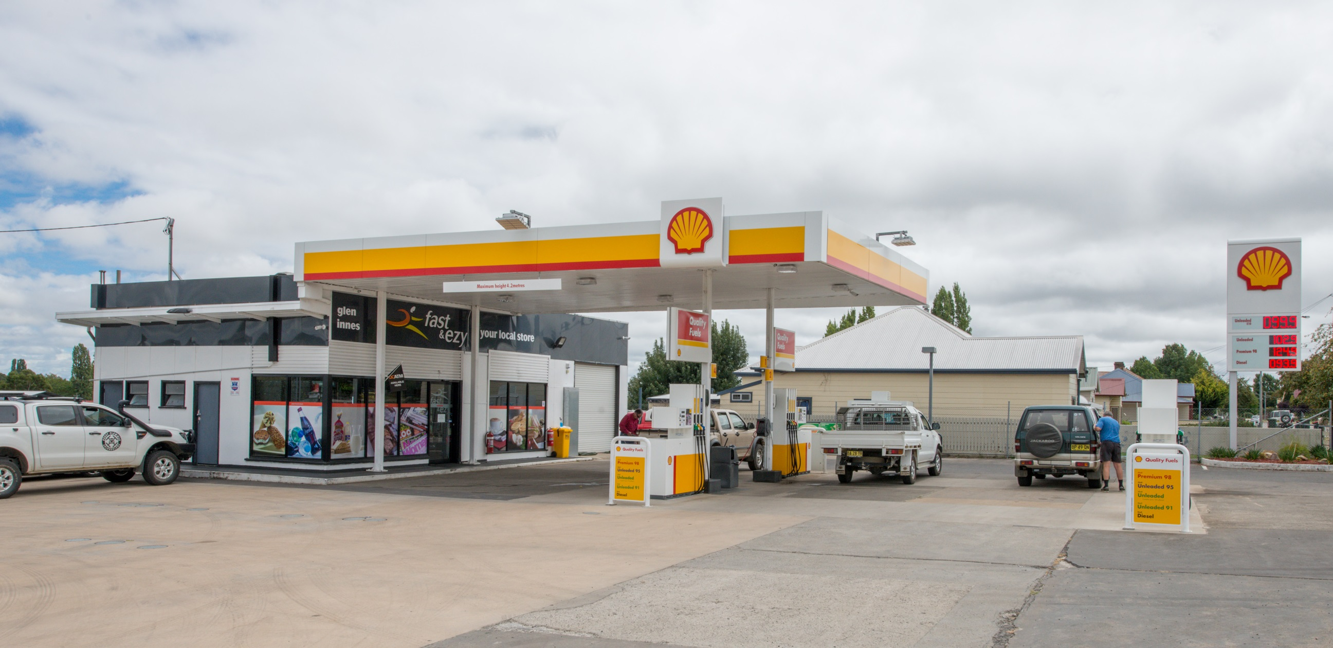Shell Branded Highway Service Station