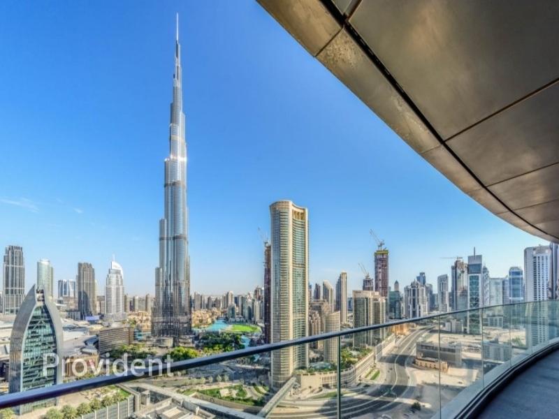 Magnificent Burj Khalifa & Ocean View