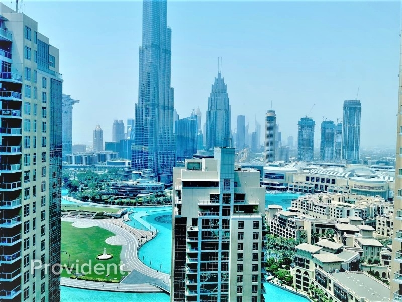Fully Furnished|Burj Khalifa View|Ready to Move in