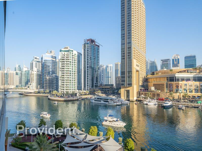 Private Terrace|Full Marina View|Waterfront Facing