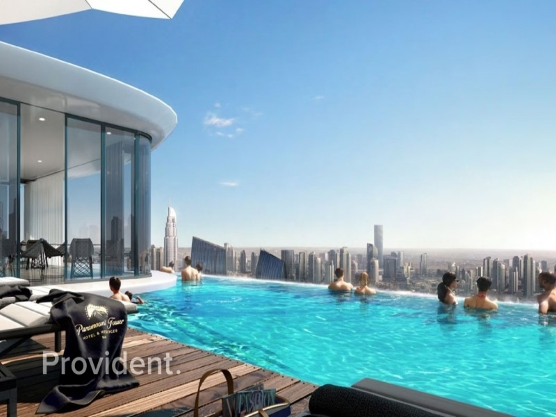 Spectacular Views of SZR & Burj|Developer Direct