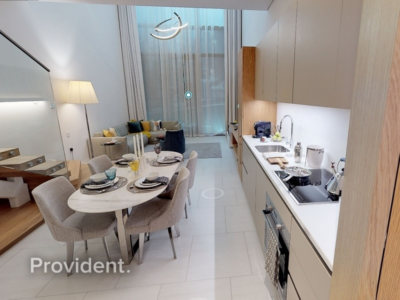 1BR Loft Type Apartments, Burj Khalifa View