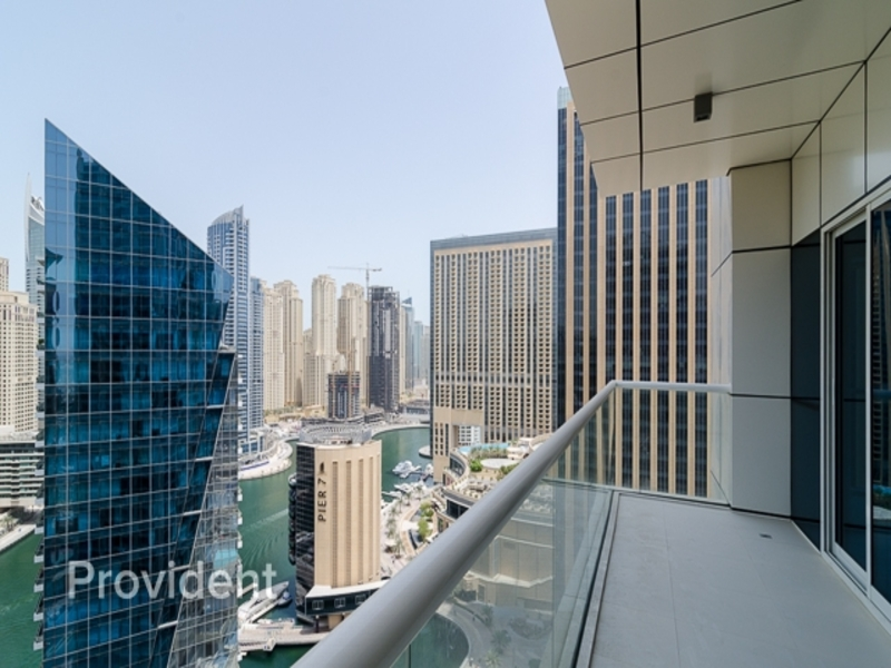 Exclusive | Full Marina View | With Balcony